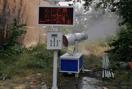 环境监测及喷淋联动