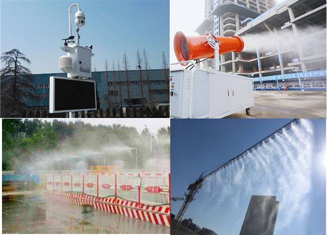环境监测仪及喷淋联动